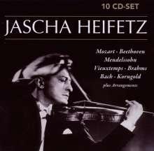 Jascha Heifetz, 10 CDs