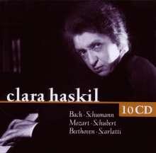 Clara Haskil, 10 CDs