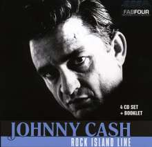 Johnny Cash: Rock Island Line, 4 CDs