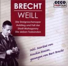 Kurt Weill (1900-1950): Kurt Weill/Bert Brecht - 3 Opern, 4 CDs