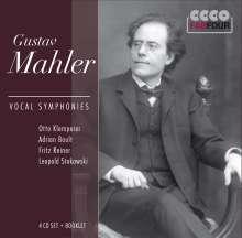 Gustav Mahler (1860-1911): Symphonien Nr.2,3,4,8, 4 CDs