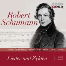 Robert Schumann (1810-1856): Lieder und Liederzyklen, 4 CDs