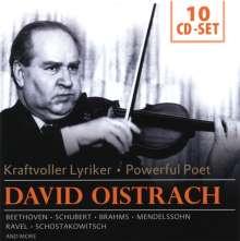 David Oistrach - Kraftvoller Lyriker, 10 CDs