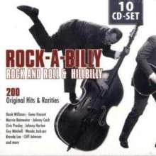 Rock-A-Billy, Rock And Roll & Hillbilly, 10 CDs