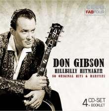 Don Gibson: Hillbilly Hitmaker, 4 CDs
