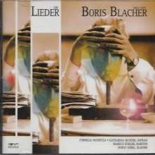 Boris Blacher (1903-1975): Lieder, CD