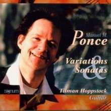 Manuel Maria Ponce (1882-1948): Werke für Gitarre, CD