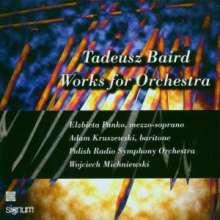 Tadeusz Baird (1928-1981): Orchesterwerke, CD