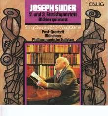 Joseph Suder (1892-1980): Streichquartette Nr.2 e-moll & Nr.3 a-moll, CD