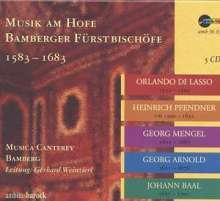 Musik am Hofe Bamberger Fürstbischöfe 1583-1683, 5 CDs