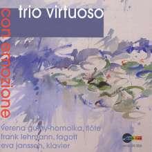 Friedrich Kuhlau (1786-1832): Trio für Flöte,Fagott & Klavier op.119, CD