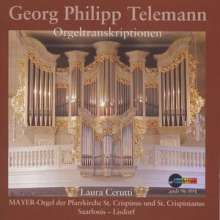 Georg Philipp Telemann (1681-1767): Orgeltranskriptionen, CD