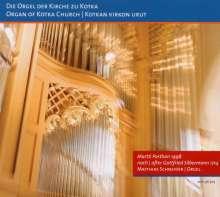 Matthias Schneider an der Orgel der Kirche zu Kotka, CD