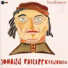 Johann Philipp Kirnberger (1721-1783): Trios Nr.1-5 für 2 Violinen & Bc in G,E,C,d,g, CD