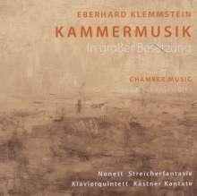 Eberhard Klemmstein (geb. 1941): Kammermusik (in großer Besetzung), CD