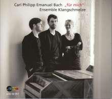 Carl Philipp Emanuel Bach (1714-1788): Flötenquartette Wq.93-95, CD