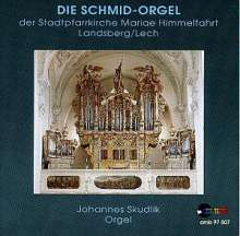 Johannes Skudlik,Orgel, CD