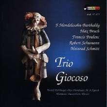 Musik für 2 Klarinetten & Klavier, CD