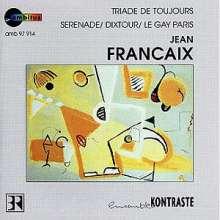 Jean Francaix (1912-1997): Serenade für kleines Orchester, CD