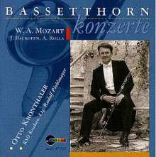 Johann Georg Heinrich Backofen (1768-1830): Bassetthornkonzert in F, CD