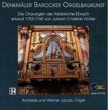 Musik für 2 Orgeln, CD