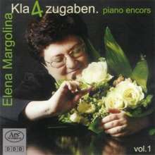 "Elena Margolina - Kla""4""zugaben Vol.1, CD"