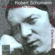 Robert Schumann (1810-1856): Sämtliche Werke für Klavier 4-händig, 2 CDs