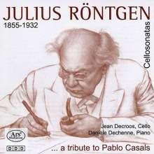 Julius Röntgen (1855-1932): Cellosonaten Vol.1, CD
