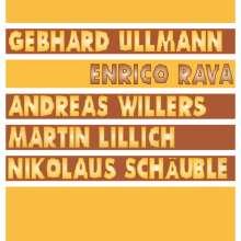 Gebhard Ullmann, Enrico Rava, Andreas Willers & Martin Lillich: Rava / Ullmann / Willers / Lillich / Schäuble, LP