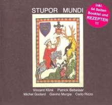 Vincent Klink & Patrick Bebelaar: Stupor Mundi, CD