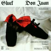 Christoph Willibald Gluck (1714-1787): Don Juan - Ballettmusik, CD