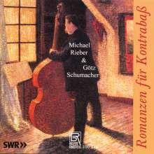 Michael Rieber - Romanzen für Kontrabaß, CD