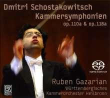 Dmitri Schostakowitsch (1906-1975): Kammersymphonien op.110a & 118a, Super Audio CD
