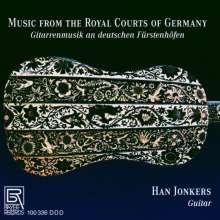 Han Jonkers - Gitarrenmusik an deutschen Fürstenhöfen, CD
