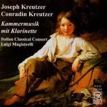 Joseph Kreutzer (1790-1840): Trios für Flöte,Klarinette & Gitarre op.16 & op.9,3, CD