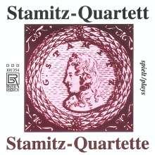 Carl Stamitz (1745-1801): Streichquartette in D,G,B, CD
