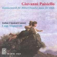 Giovanni Paisiello (1740-1816): Kammermusik für Bläser, CD