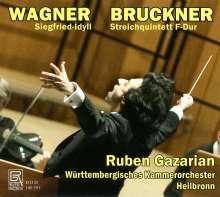 Anton Bruckner (1824-1896): Streichquintett F-Dur für Streichorchester, CD
