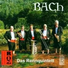 Das Rennquintett: Bach-Bearbeitungen Für, CD