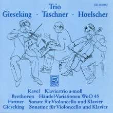 Walter Gieseking (1895-1956): Sonatine für Cello & Klavier, CD