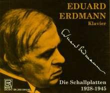 Eduard Erdmann - Aufnahmen 1928-1945, 2 CDs