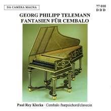 Georg Philipp Telemann (1681-1767): Fantasien für Cembalo, CD