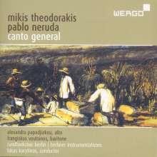 Mikis Theodorakis (geb. 1925): Canto General (Oratorium), 2 CDs