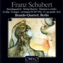 Franz Schubert (1797-1828): Streichquartett Nr.15 (120 g), LP
