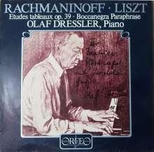 Olaf Dressler spielt Liszt & Rachmaninoff (120 g), LP