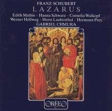 Franz Schubert (1797-1828): Lazarus D.689 (120 g), 2 LPs