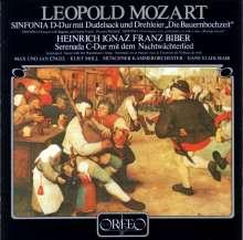 Leopold Mozart (1719-1787): Sinfonia D-dur mit Dudelsack & Drehleier, CD
