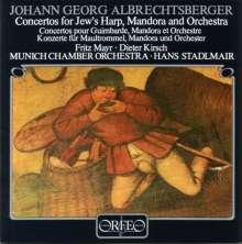 Johann Georg Albrechtsberger (1736-1809): Maultrommelkonzerte E-dur & F-dur (120 g), LP