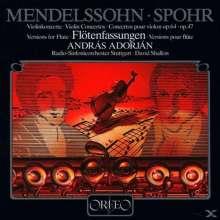 A.Adorjan spielt Violinkonzerte auf der Flöte (120 g), LP