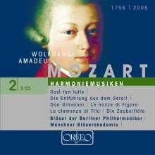 Wolfgang Amadeus Mozart (1756-1791): Die Harmoniemusiken, 3 CDs